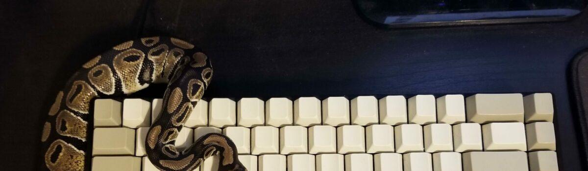 Intro Python Programming for Citizen Scientists