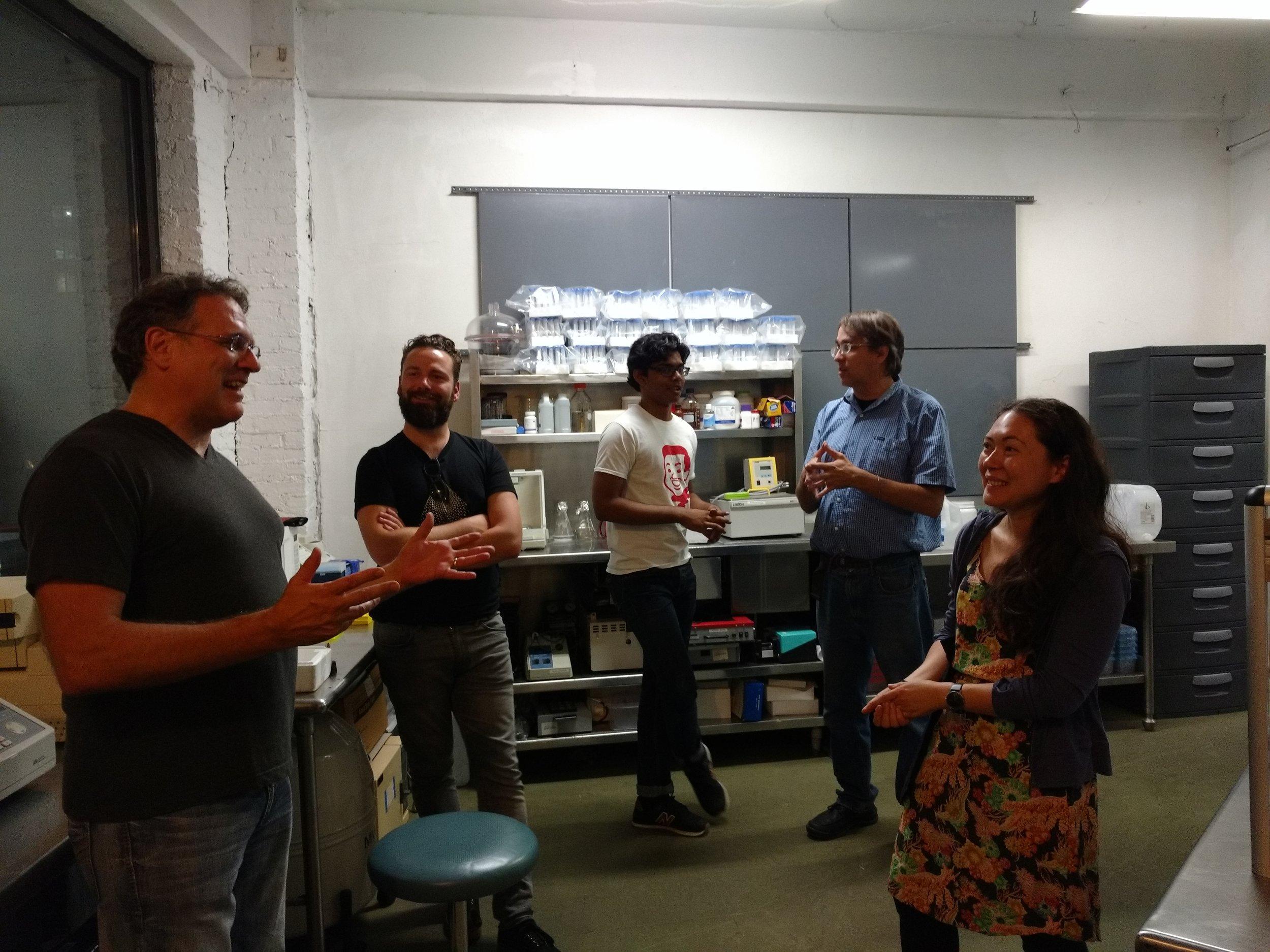 Lab Membership Happy Hour